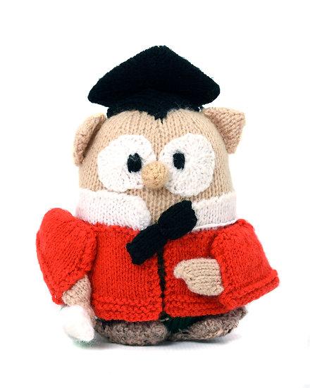 Graduation Owl - Phil's Handknit Toys
