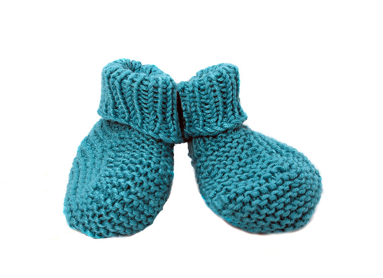Baby Bootees - Clare's Crafts