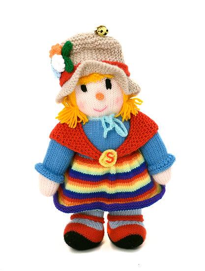 Sally - Phil's Handknit Toys