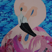 Flament Rose (Wall Hanging)