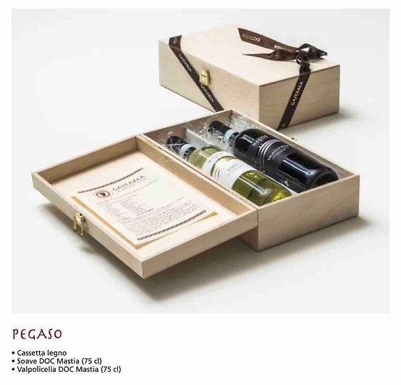 Polaris - Amarone, Aglianico, Falanghina, cassetta in legno