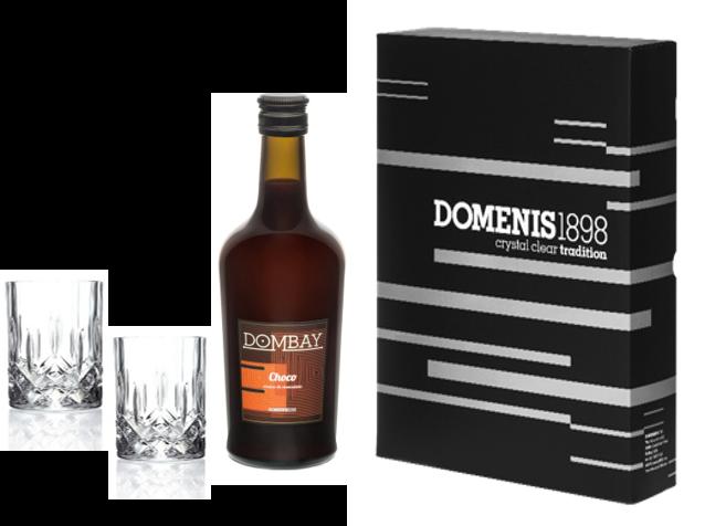 DOMBAY CHOCO CL 50, 2 BICCHIERI