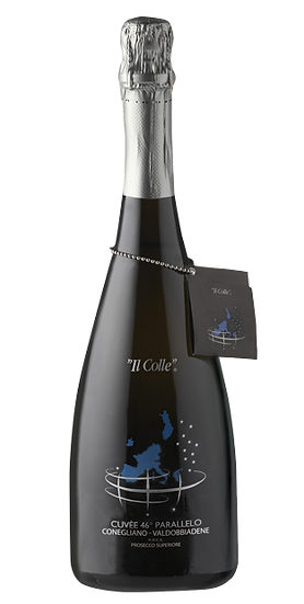 46* Parallelo C.V. Prosecco Superiore DOCG Extra dry cl 75 - Il Colle