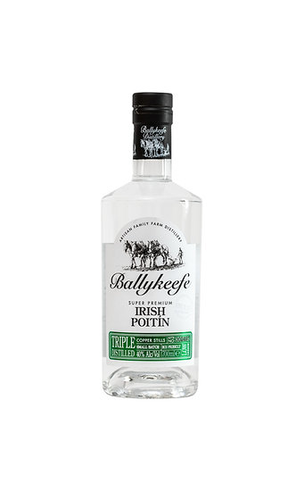 BALLYKEEFE - SUPER PREMIUM IRISH POITIN 70 cl