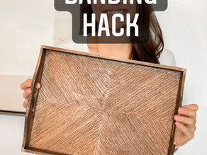 Edge banding hack how to and review!
