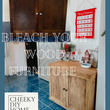 Bleach Your Wood Furniture