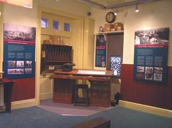 Stationmaster's desk