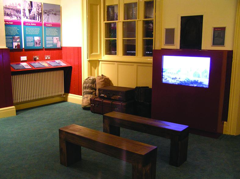 AV and bespoke seating