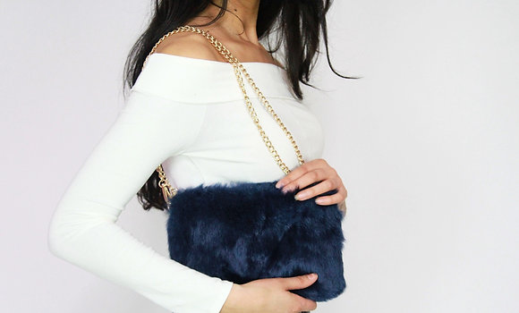 Wild Nights Fur Purse