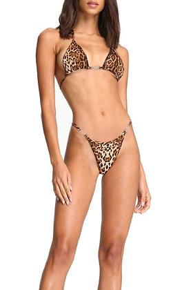 Lusted Leopard Bikini Top
