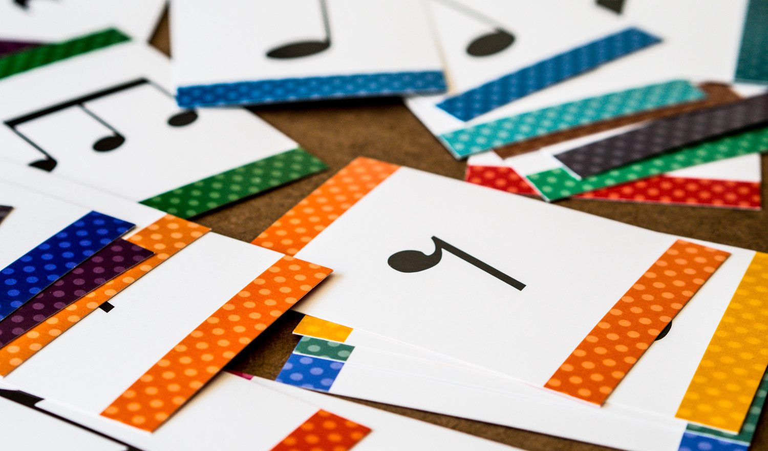 Rhythm cards - creative projects by Wendy