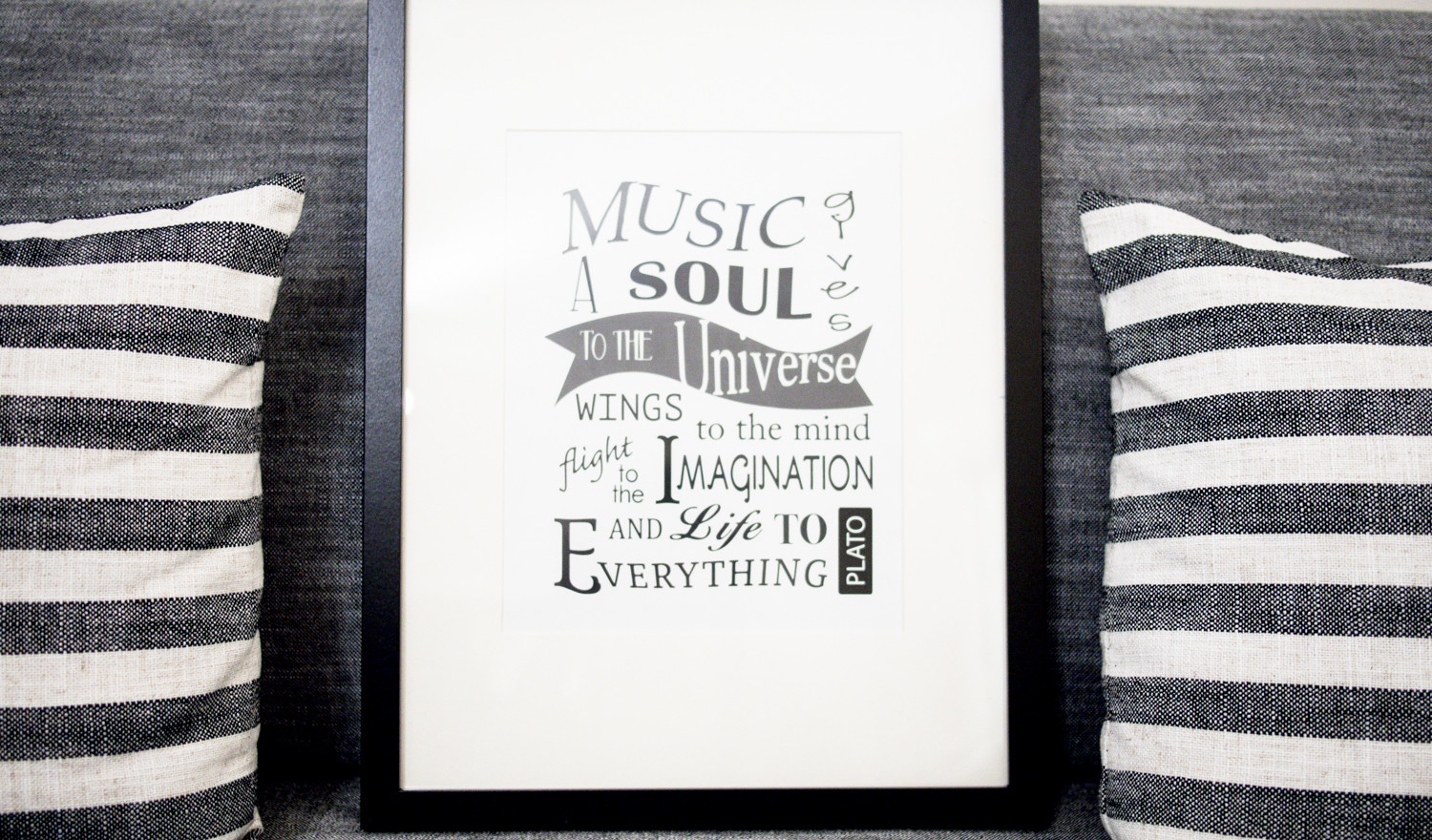 Music poster designed by Wendy Chan