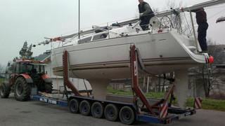 Přeprava plachetnice