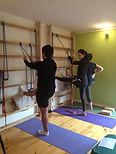 Yogaterapia, Ejecicios, Estabilización