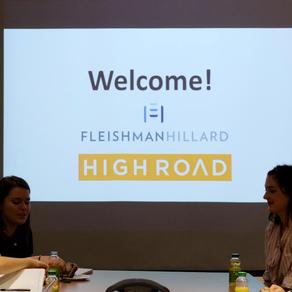 Fleishman Hillard/High Road Blog