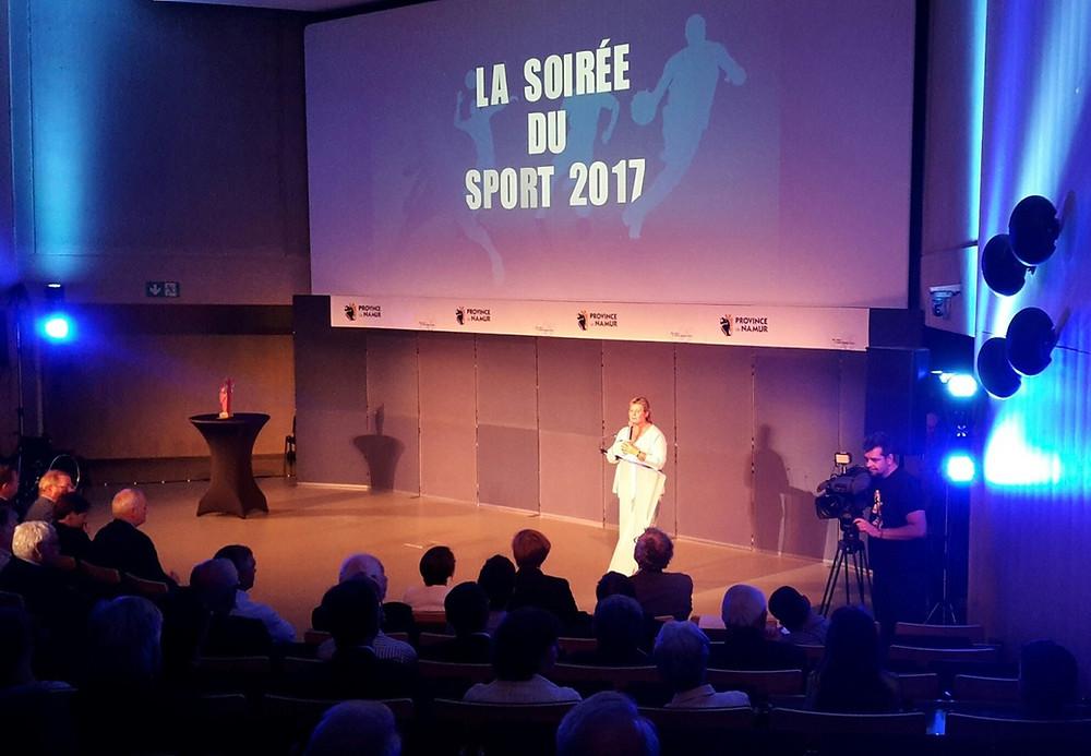 Soirée du sport 2017 Geneviève Lazaron