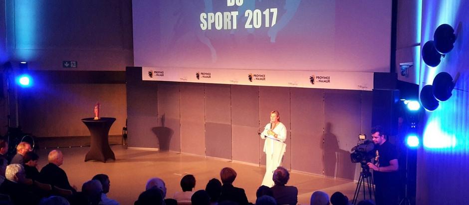 Les sportifs namurois mis à l'honneur par la Province de Namur