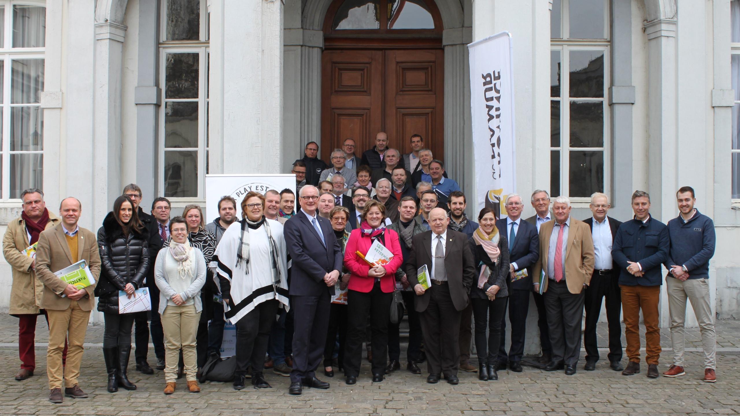 Membres Panathlon à Namur