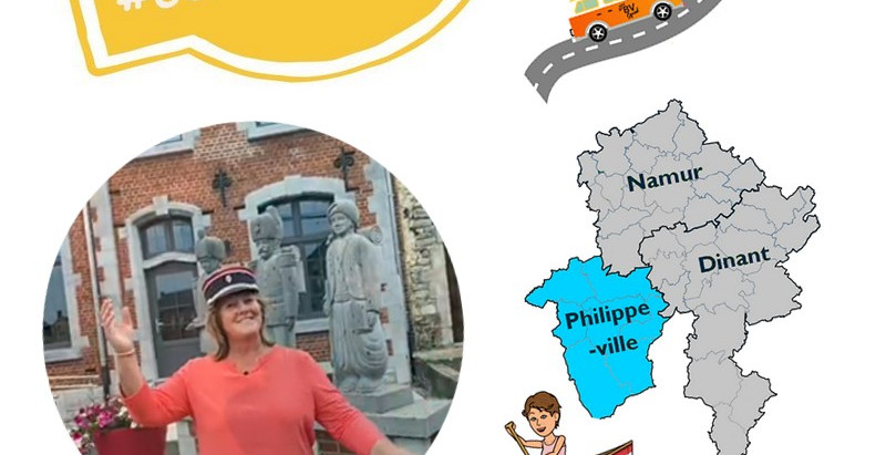 Philippeville : #Genevoyagepasloin cet été en Province de Namur !