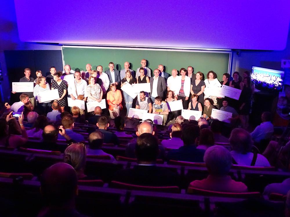 Lauréats des appels à projets sports 2018 à la Province de Namur