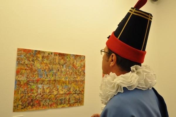 L'exposition des 40 Molons: quand l'art et le folklore se rencontrent...