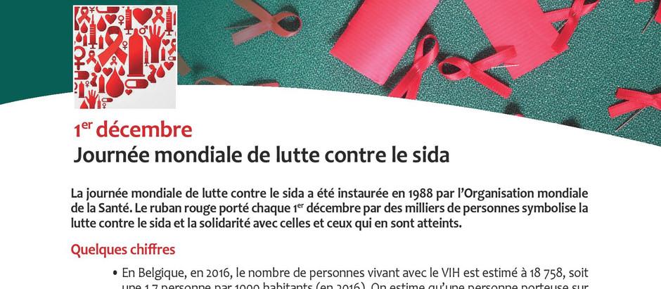 Billet santé : 1er décembre, Journée mondiale de lutte contre le  SIDA