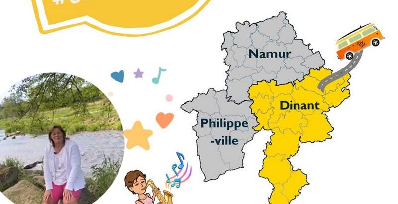#Genevoyagepasloin cet été en Province de Namur !