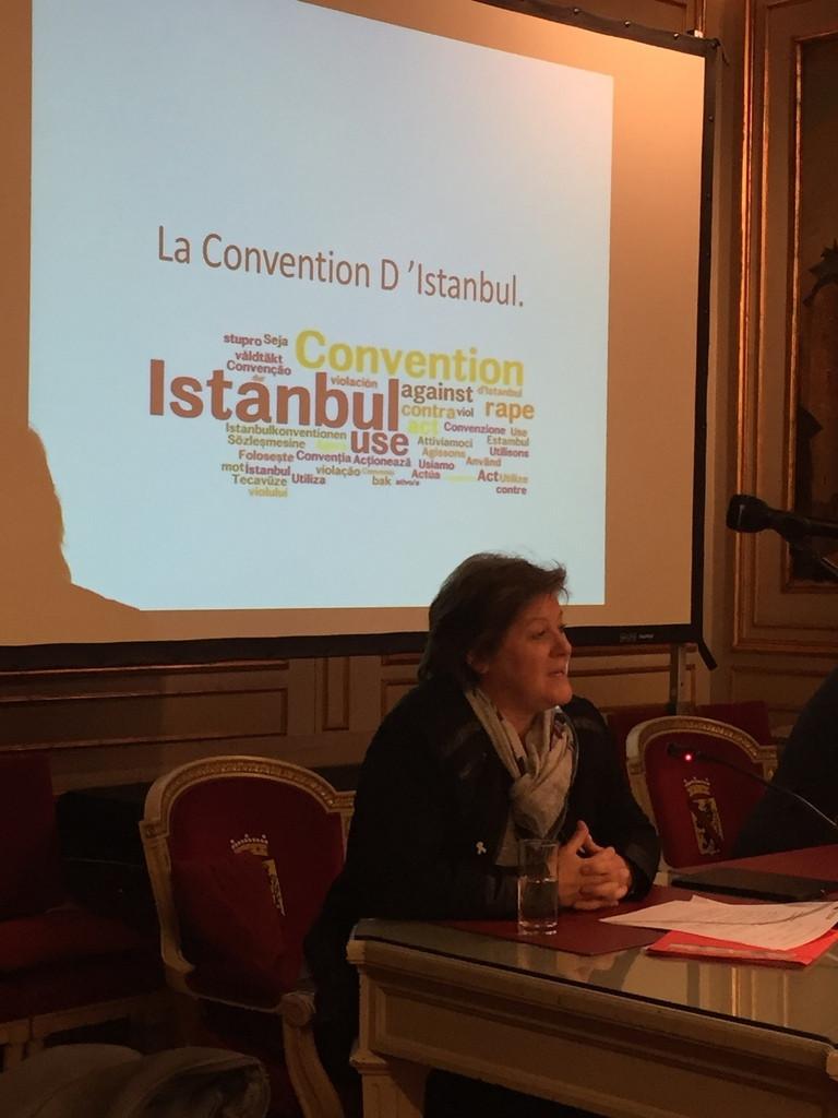 Journée du droit des femmes  Convention d'Istanbul
