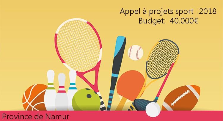 Appel à projets Sport 2018