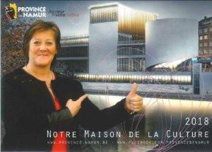 Geneviève Lazaron et le projet de la nouvelle maison de la culture