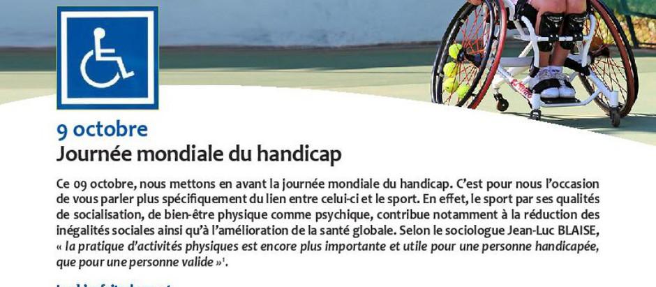 Le sport dans le handicap: une réalité en Province de Namur