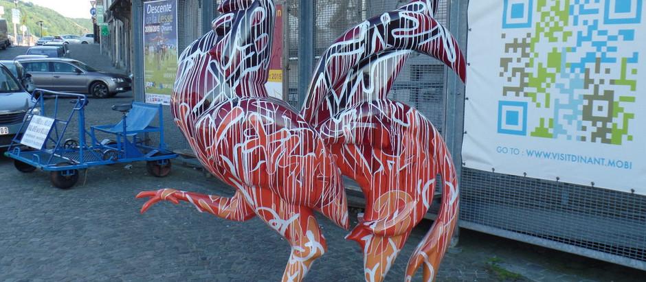 Lancement de la Coq'Parade à Dinant
