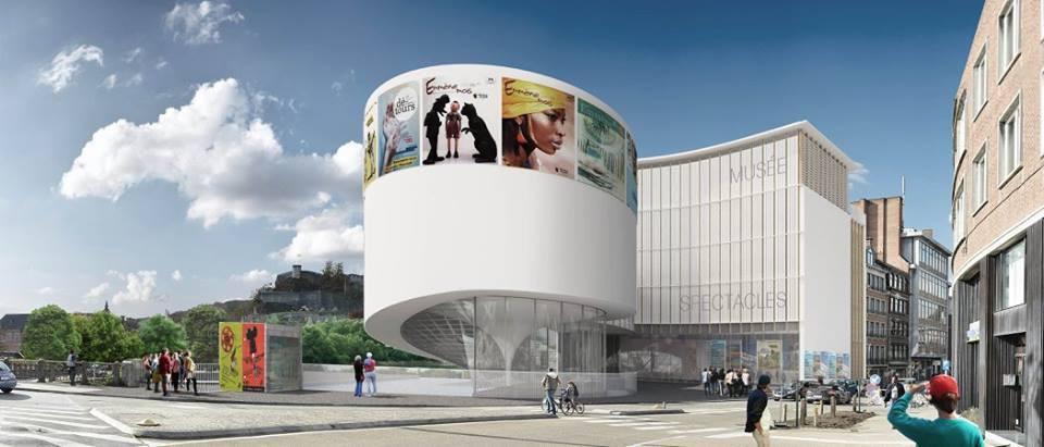 Maison de la Culture Namur Projet