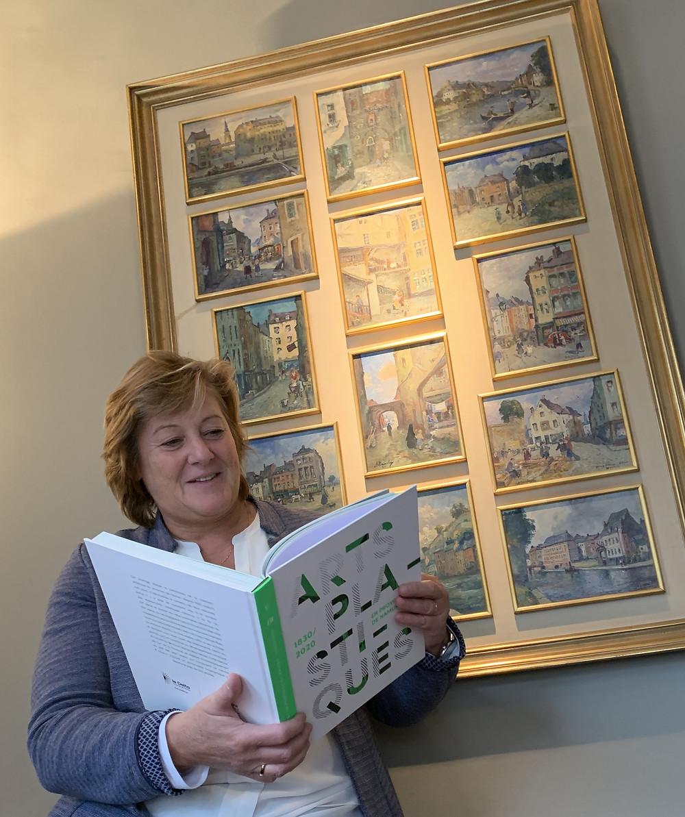 Genevieve Lazaron - Arts plastiques Province de Namur 1830 -2020