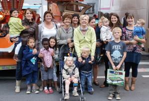 Les Bouts d'Choux sur la Foire de Namur