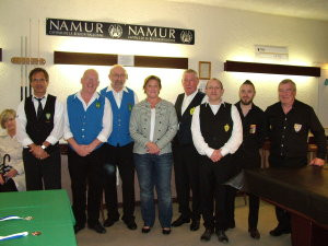 1er Grand Prix de billard F & J Botton à Namur