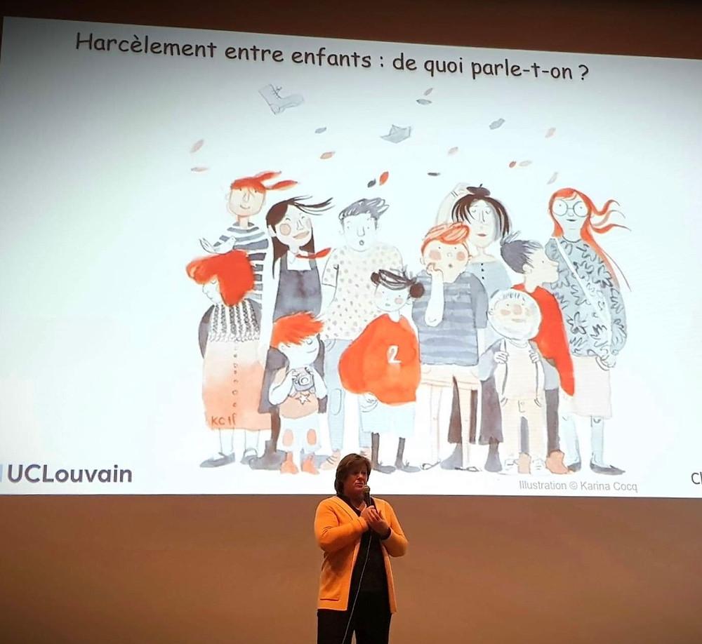 G. Lazaron - Journée sur le harcèlement à Gembloux