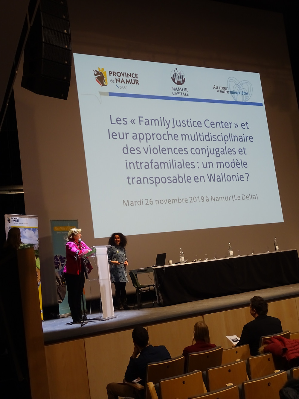 Geneviève Lazaron - Family Justice Center FJC Delta Namur
