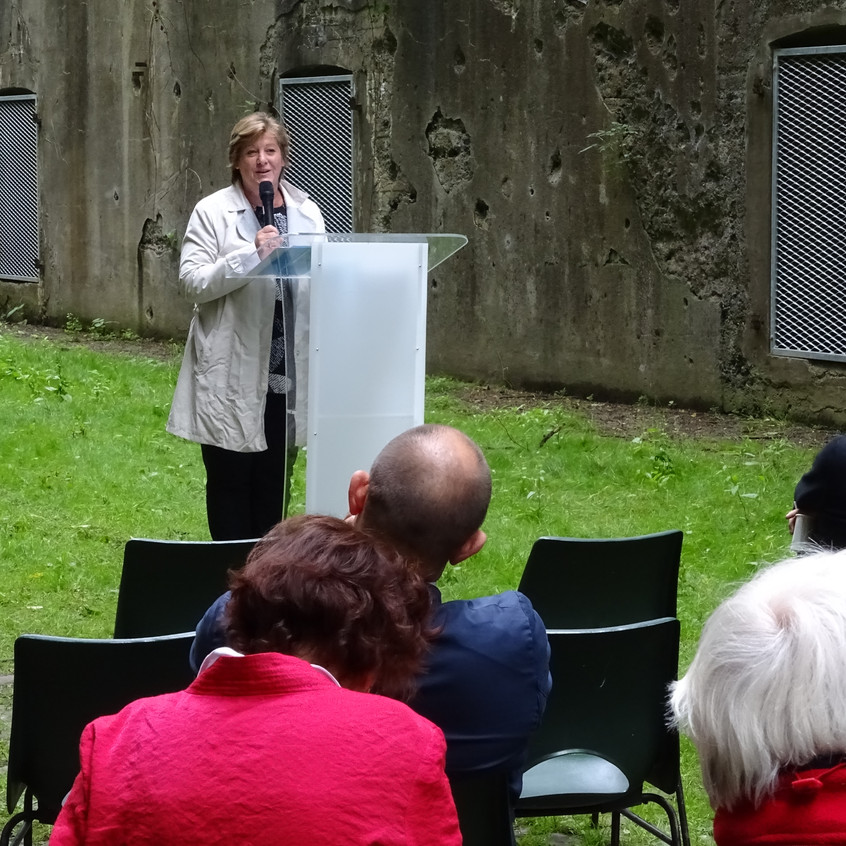 Lazaron G. au Fort d'Emines Namur