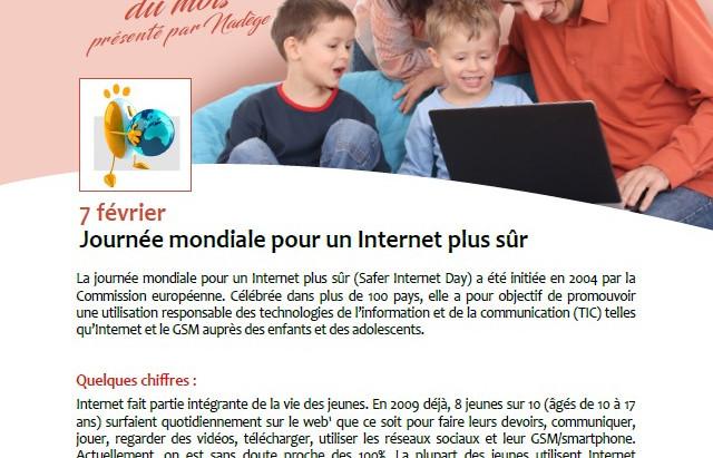 Billet Santé: Journée Mondiale pour un Internet plus sûr