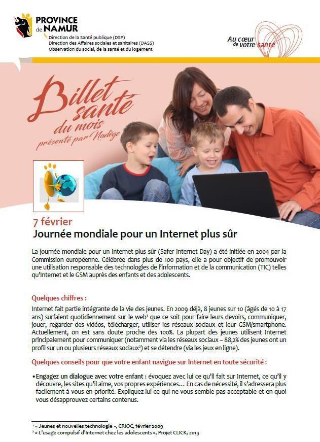 Internet plus sûr pour les enfants