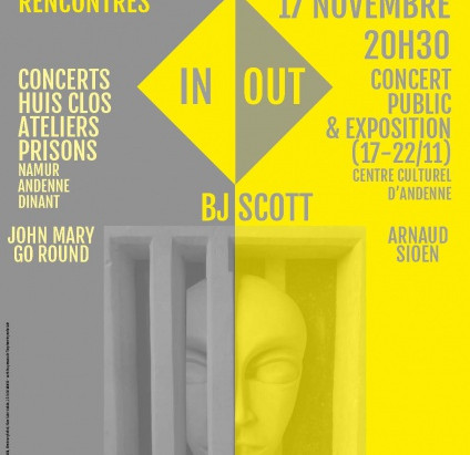 Rencontres IN/OUT: des concerts aux prisons de Namur, de Dinant et d'Andenne aujourd'hui!