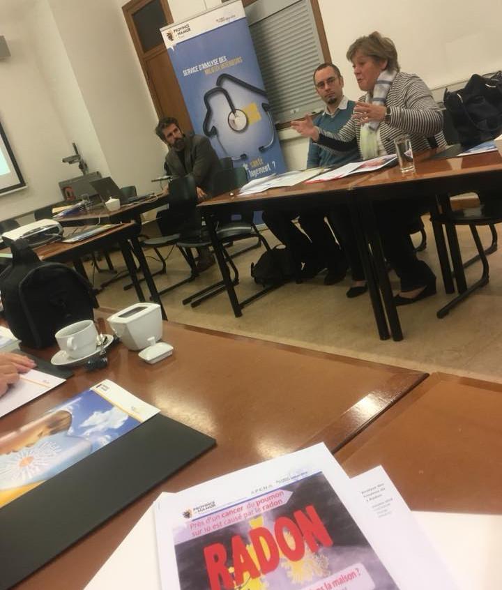 Conférence de presse Radon 2018