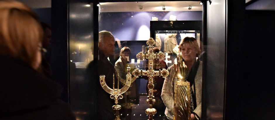 Alda Greoli au Musée Provincial des Arts anciens de Namur ce jeudi