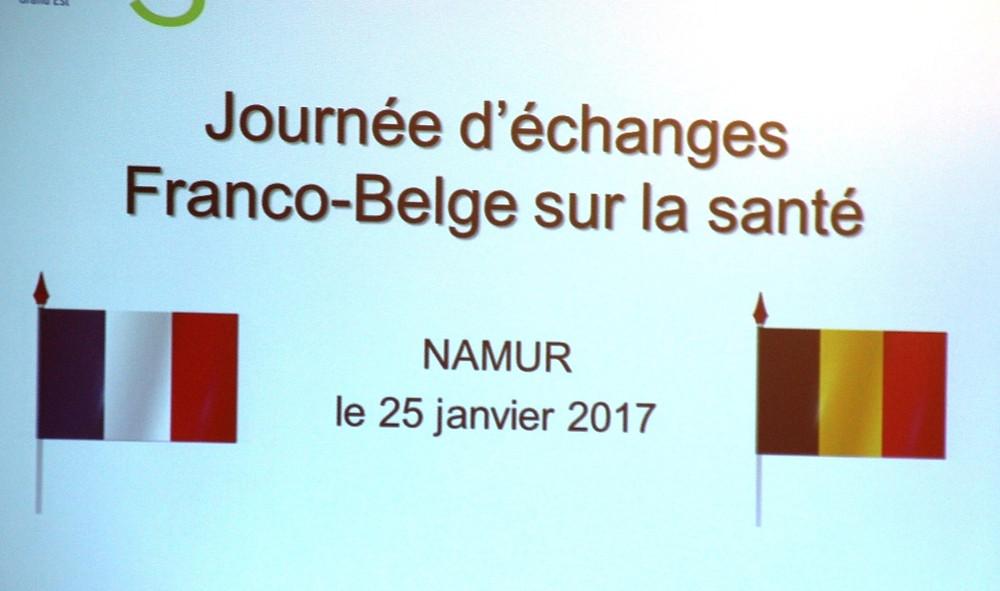 Journée d'échanges santé franco-belge