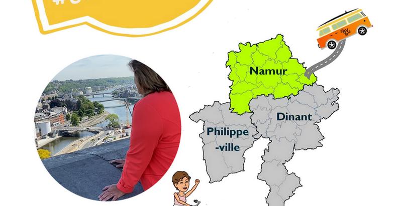 Namur : #Genevoyagepasloin cet été en Province de Namur !
