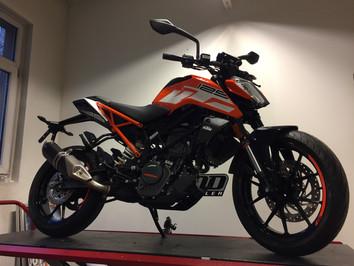 KTM ś lett motorsykkel - Ready to race