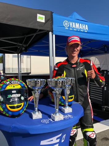 Jonathan Lykkeś seiersparade i helgens    NM runde