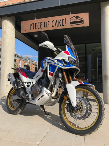 Honda Africa Twin Adventure Sport           Up-sized excellence