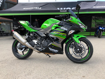 Kawasaki Ninja 400 - Fantastisk A2?          Kraftkar, leverer kvalitet, morsom å kjøre